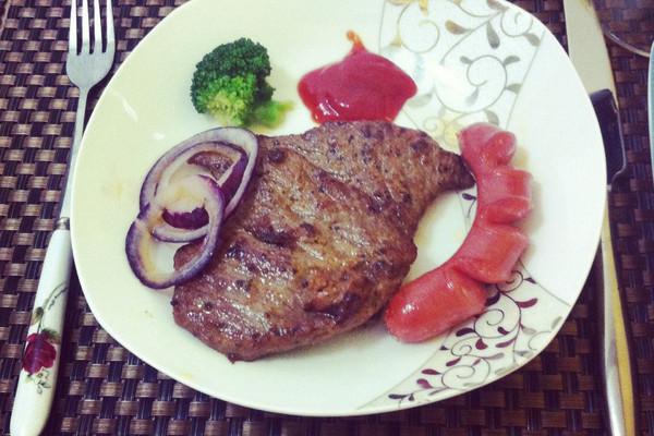 牛排简易烹饪制作步骤
