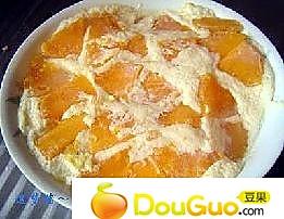 木瓜牛奶蒸鸡蛋的做法