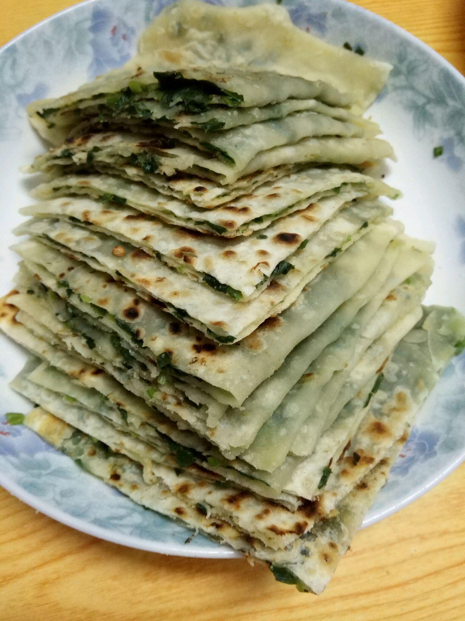 韭菜煎饼的做法_【图解】韭菜煎饼怎么做如何做好吃