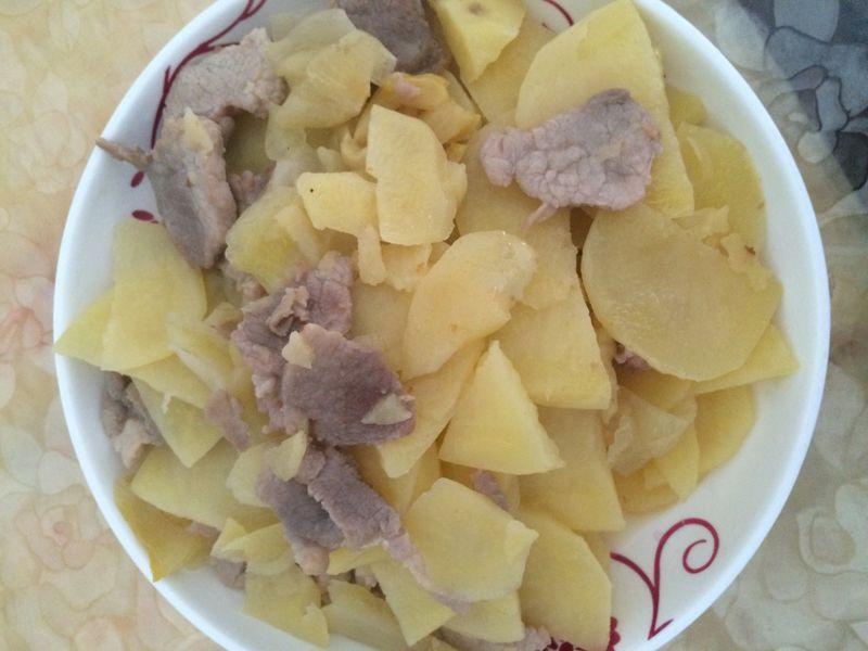 潮汕咸菜炒土豆