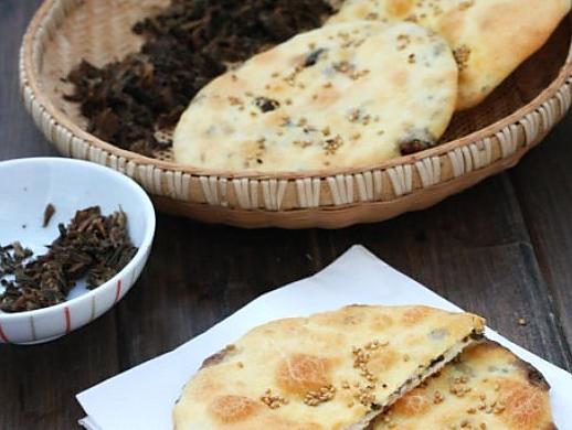 梅干菜烧饼的做法_【图解】梅干菜烧饼怎么做如何做