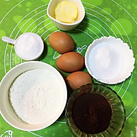 巧克力海绵蛋糕的做法图解1