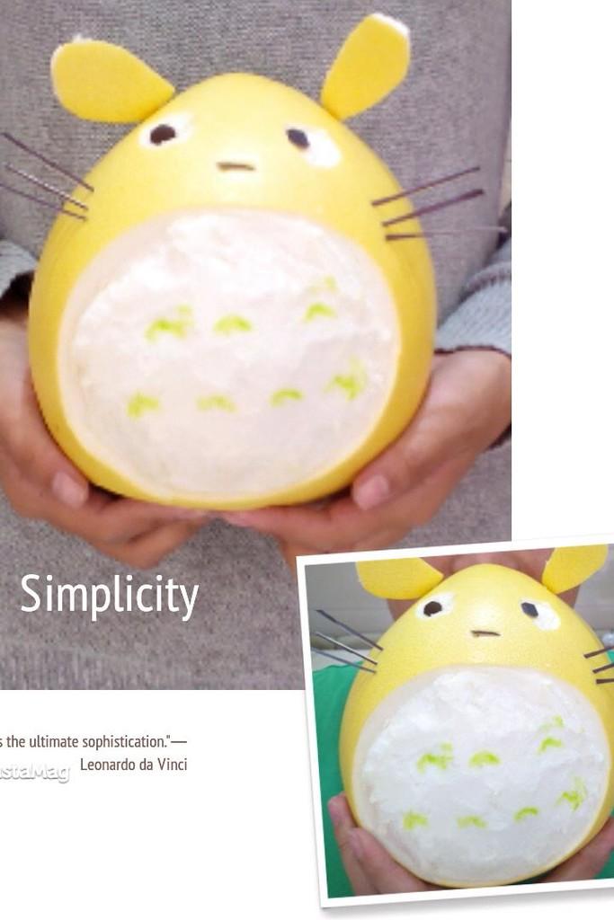 柚子龙猫的做法步骤