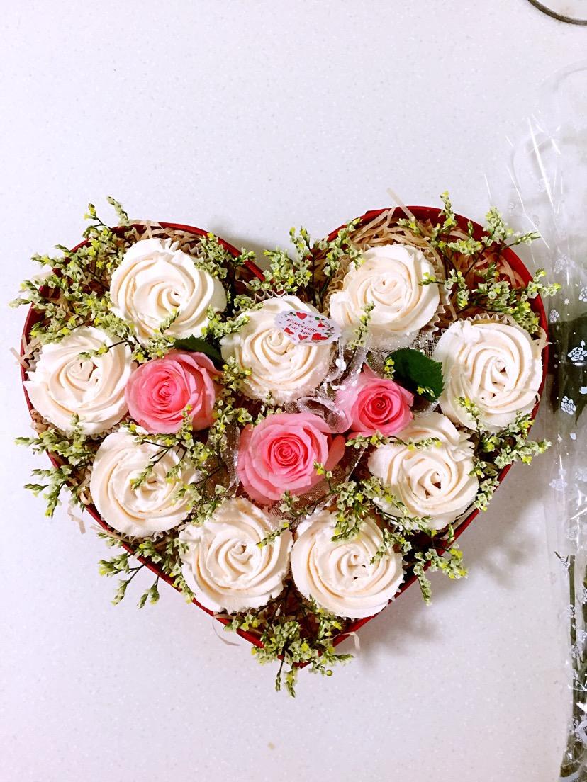 玫瑰花蛋糕礼盒