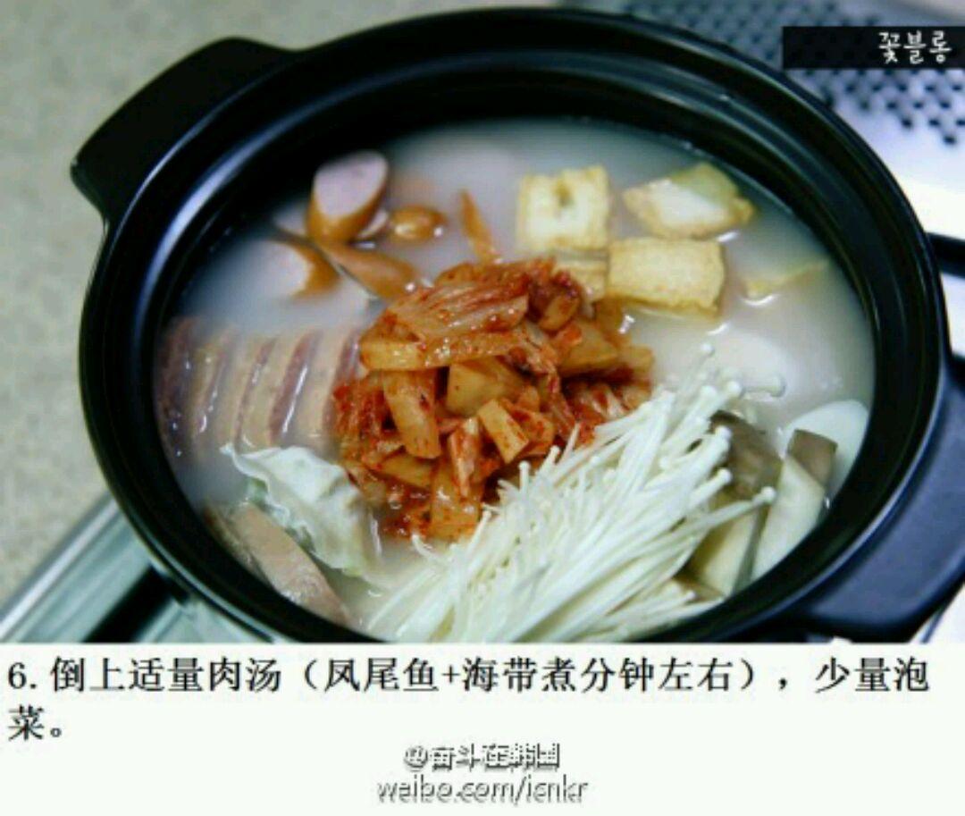 【韩式料理】の 部队汤or大酱汤图片