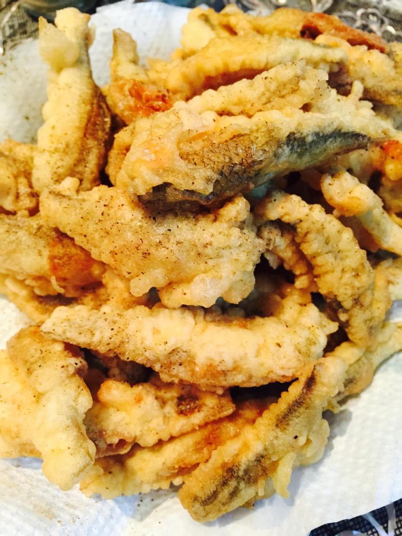 椒盐小鱼的做法