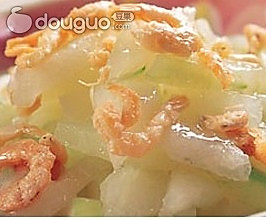清炒海米冬瓜 的做法