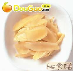 甜酸姜片的做法