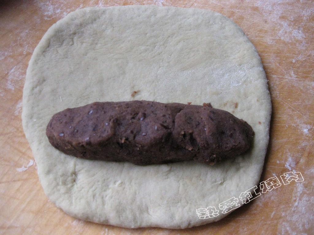 圆形面包做法图解