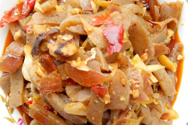 腌菜食疗肝病菜谱魔芋肝硬化图片