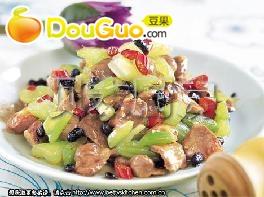火燎胗心芹菜的做法