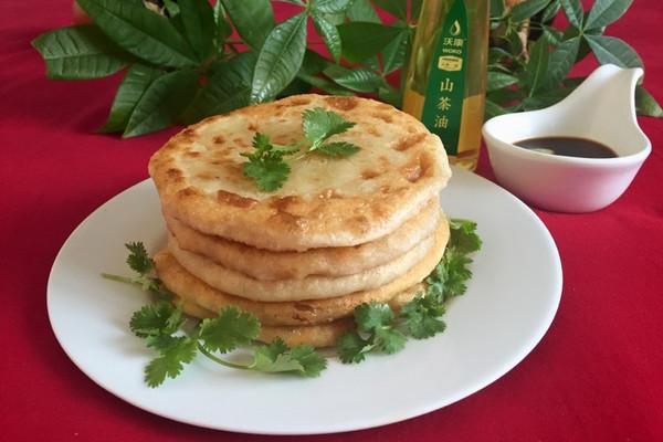 沃康山茶油#猪肉大葱馅饼的做法_【图解】#沃康山#做