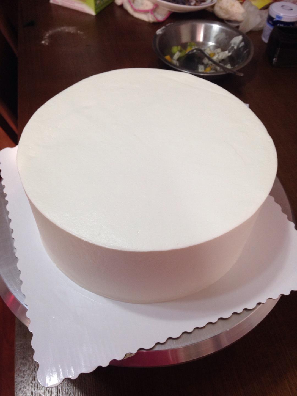 美女背影蛋糕