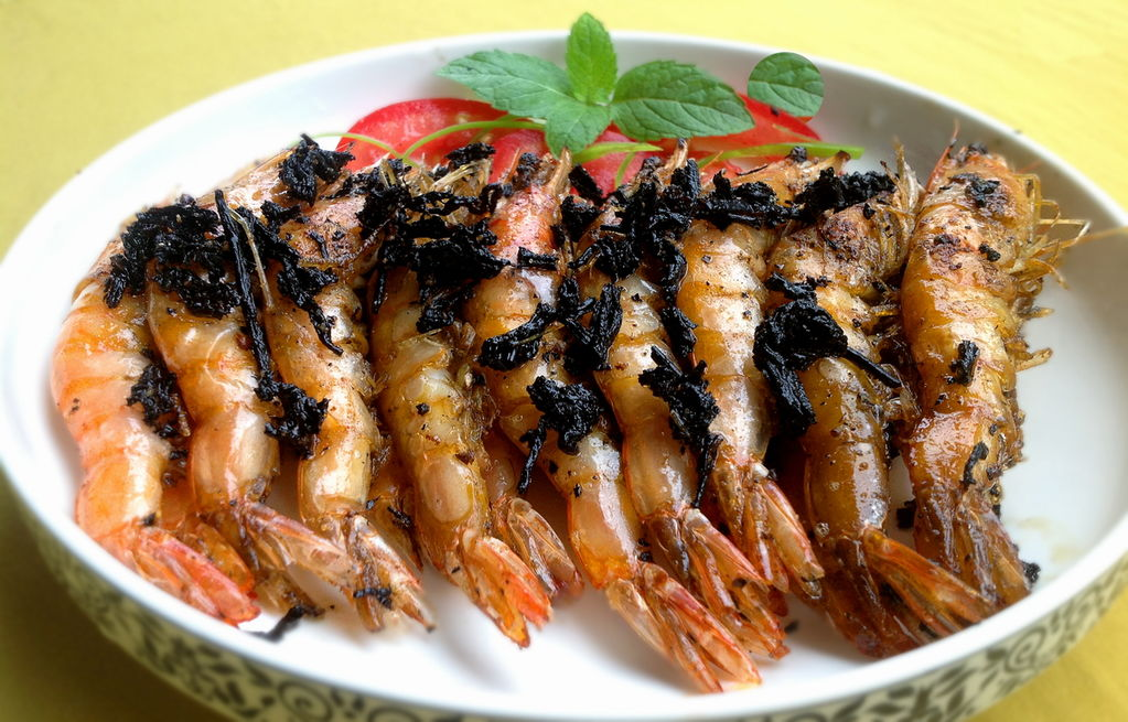 中国画龙虾步骤