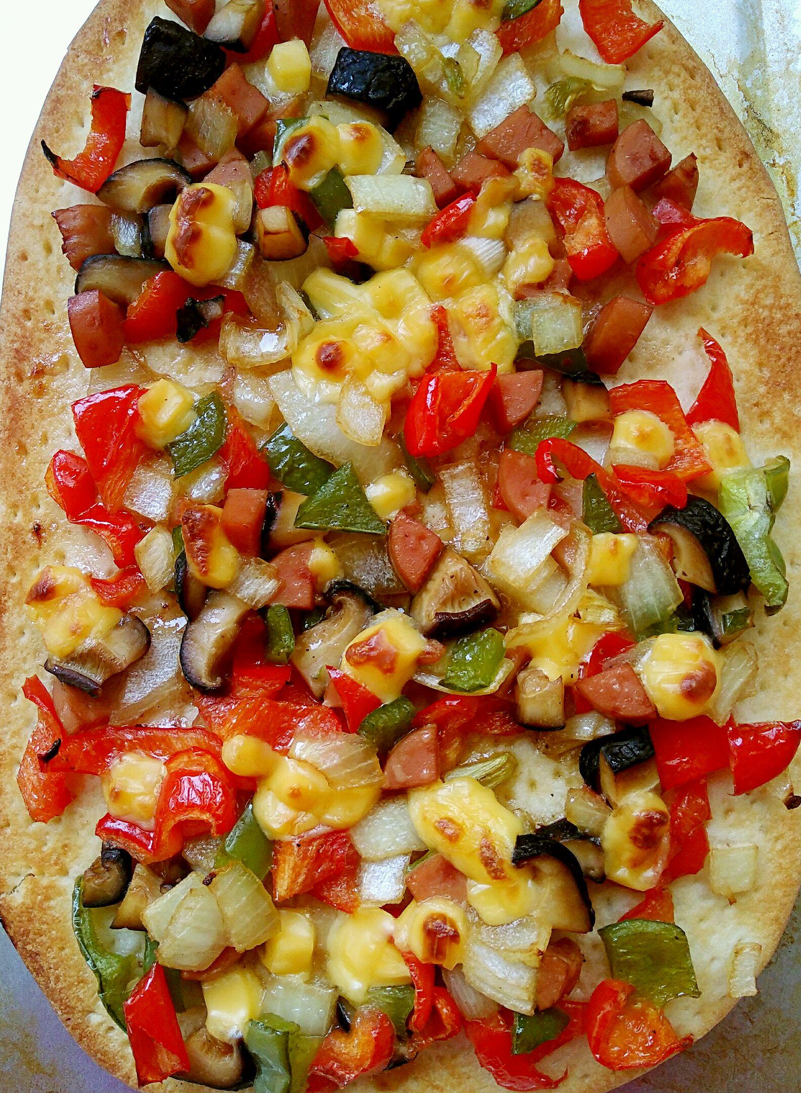 简易家庭披萨的做法_【图解】简易家庭披萨怎么做如何