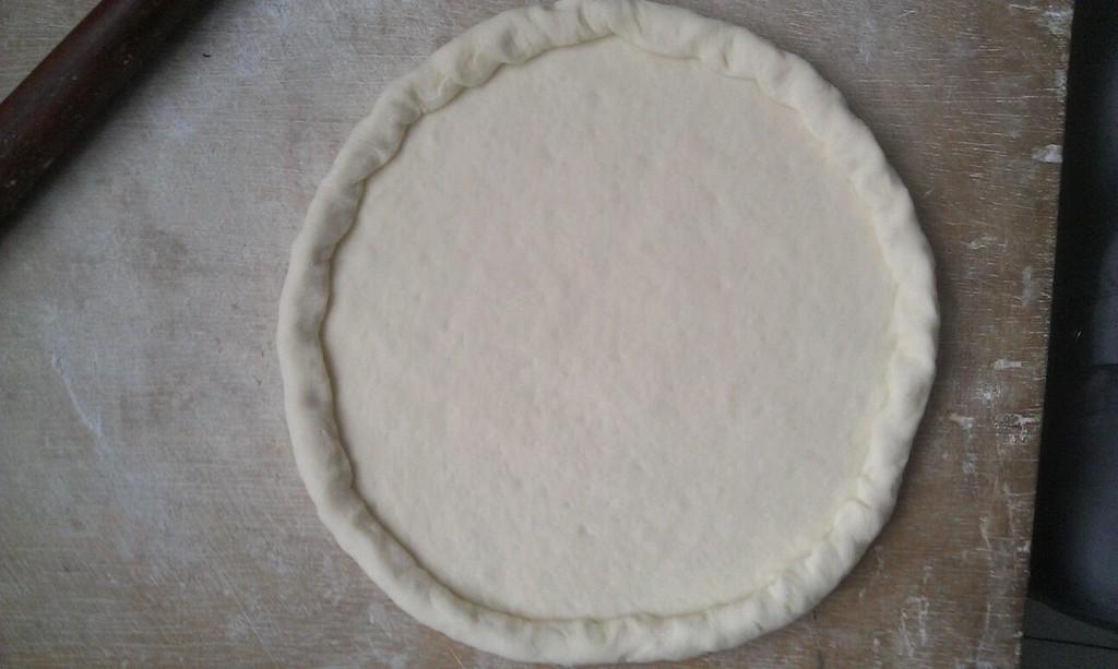 平底锅做披萨的做法步骤