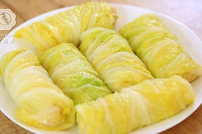 迷迭香:白菜豆腐卷