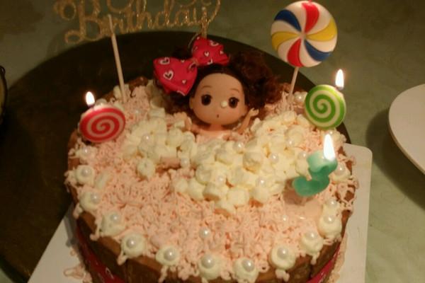 沐浴娃娃蛋糕的做法_【图解】沐浴娃娃蛋糕怎么做如何
