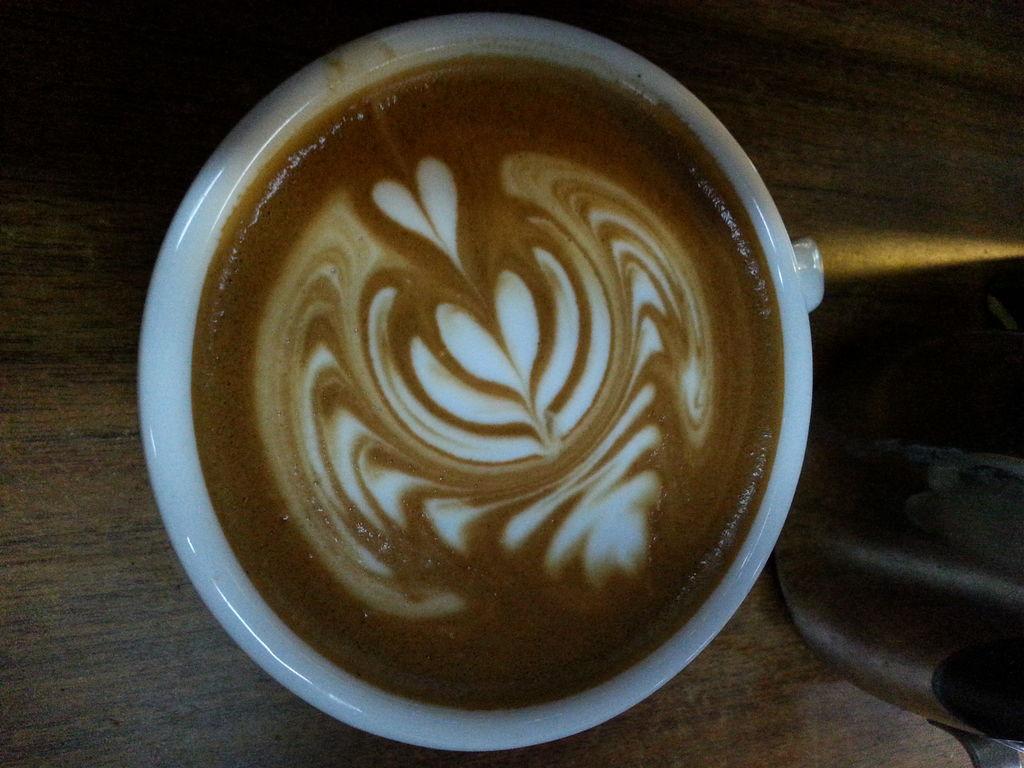咖啡拉花壁纸
