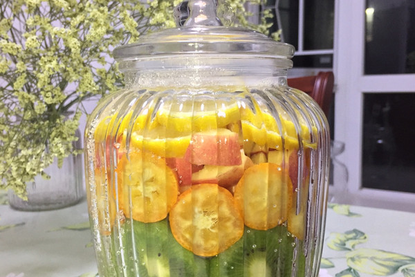 春季制作水果酵素正当时的做法