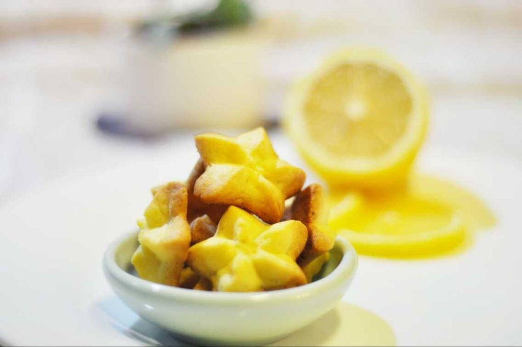柠檬曲奇——当小清新遇见黄油