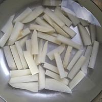 土豆牛肉豆角焖面的做法图解3