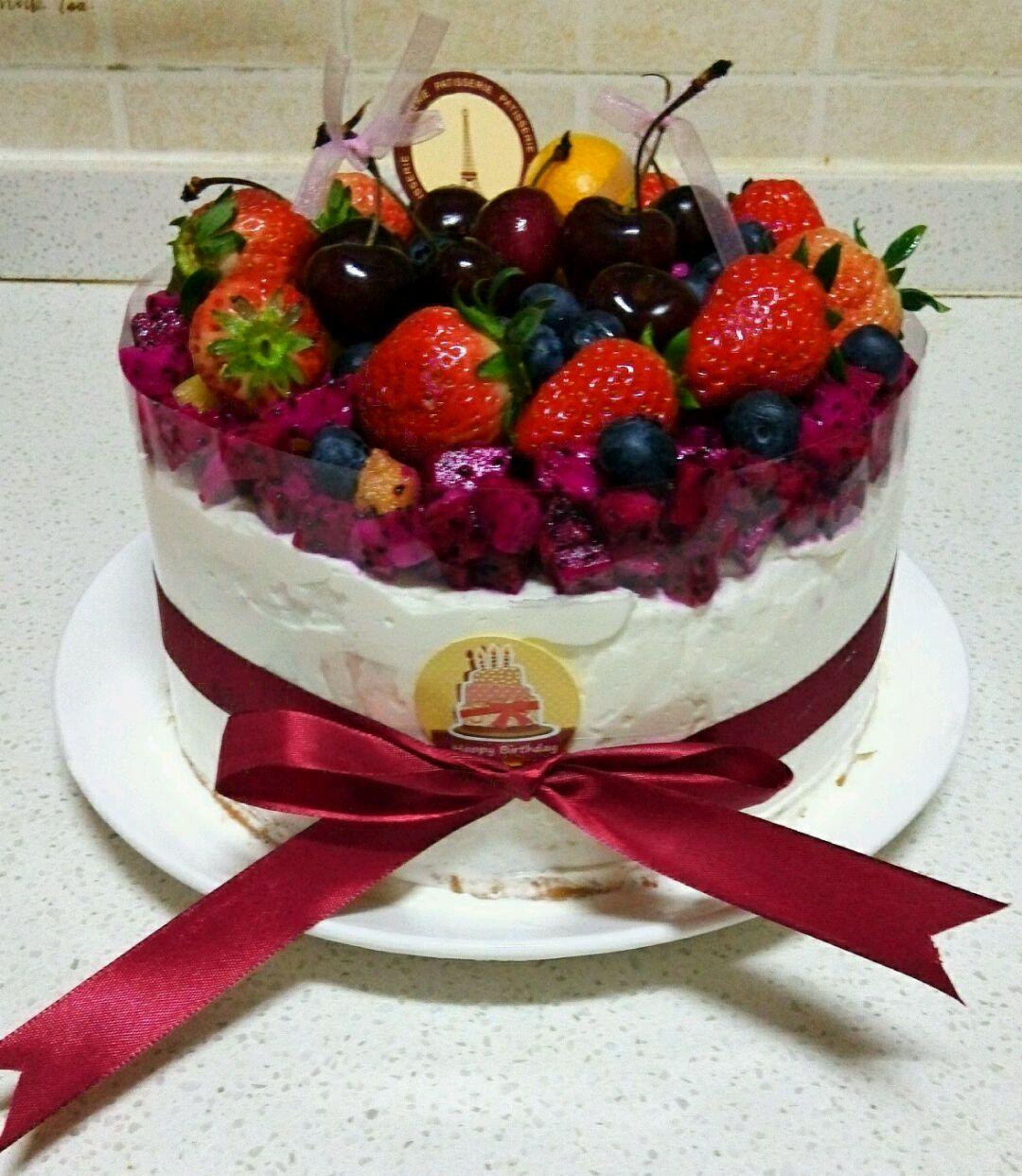 水果生日蛋糕的做法图解10