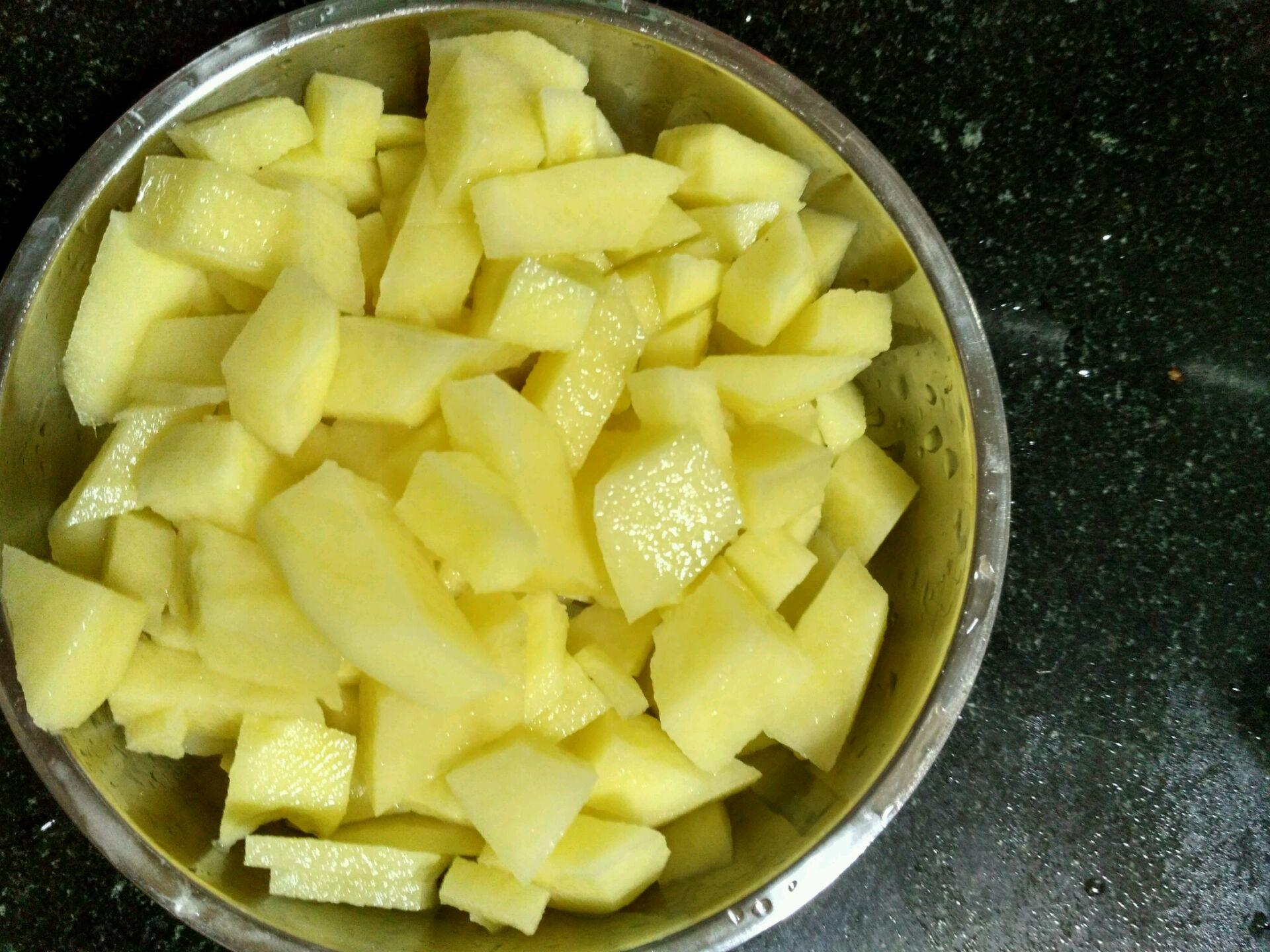 土豆泥的做法步骤
