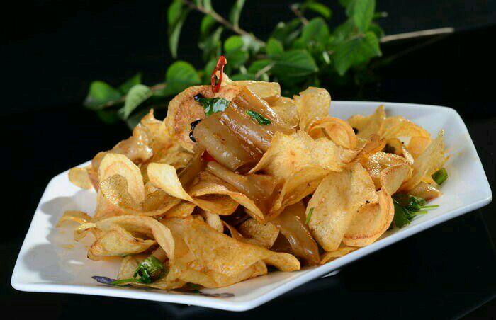 土豆片栲栳栳的做法_【圖解】土豆片栲栳栳怎么做如何