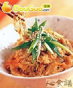 韩风豆渣香的做法