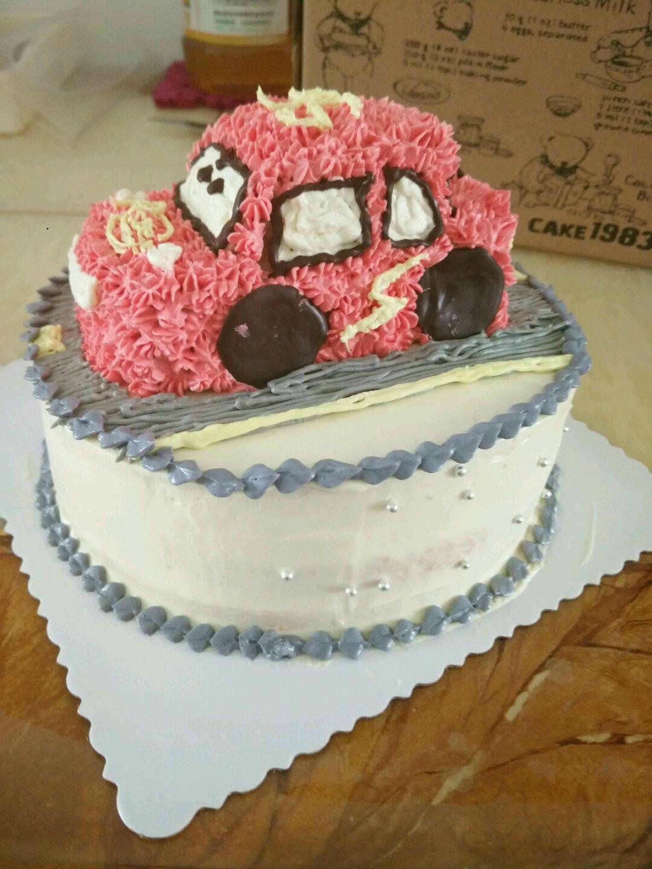 儿童节蛋糕汽车总动员的做法步骤