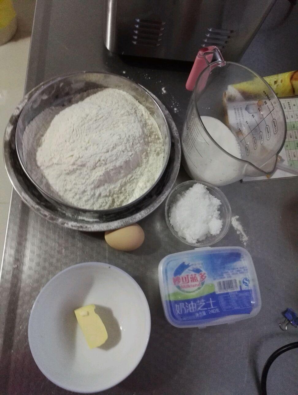 面包机奶酪土司的做法步骤