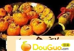 蟹镶橙的做法