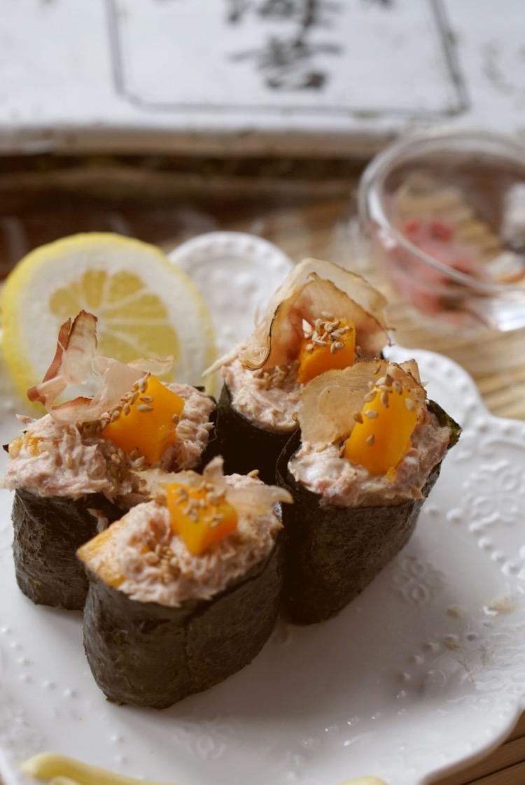 如何做吞拿鱼寿司_吞拿鱼寿司的做法_【图解】吞拿鱼寿司怎么做如何做好吃_吞拿鱼 ...