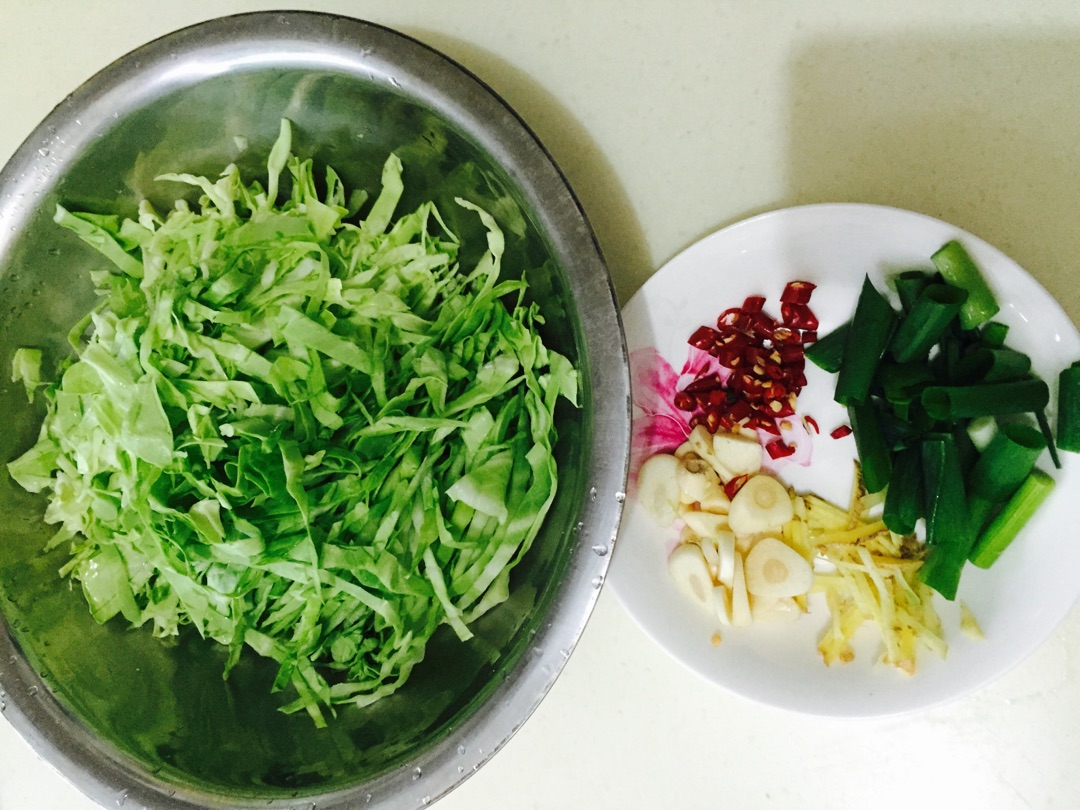 辣炒卷心菜粉条的做法_【图解】辣炒卷心菜粉条怎么做