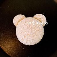 萌萌的小熊吐司片#百吉福芝士力量#的做法图解10