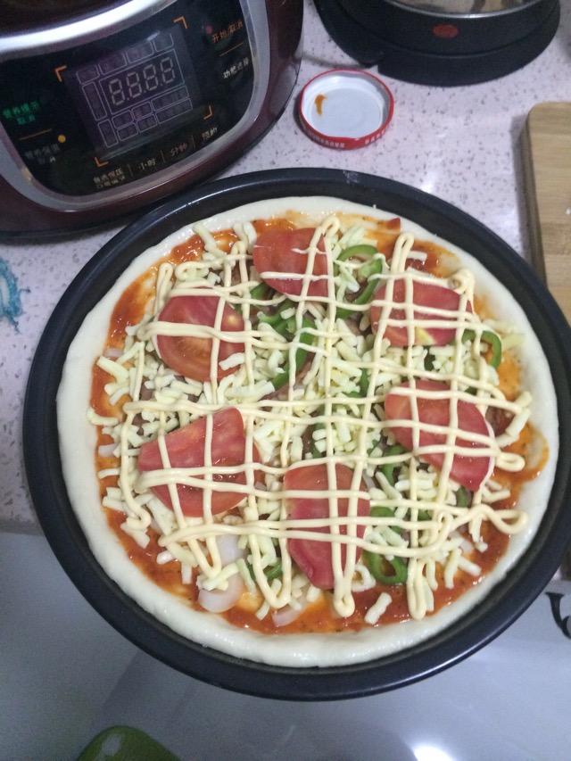 家庭披萨的做法图解10