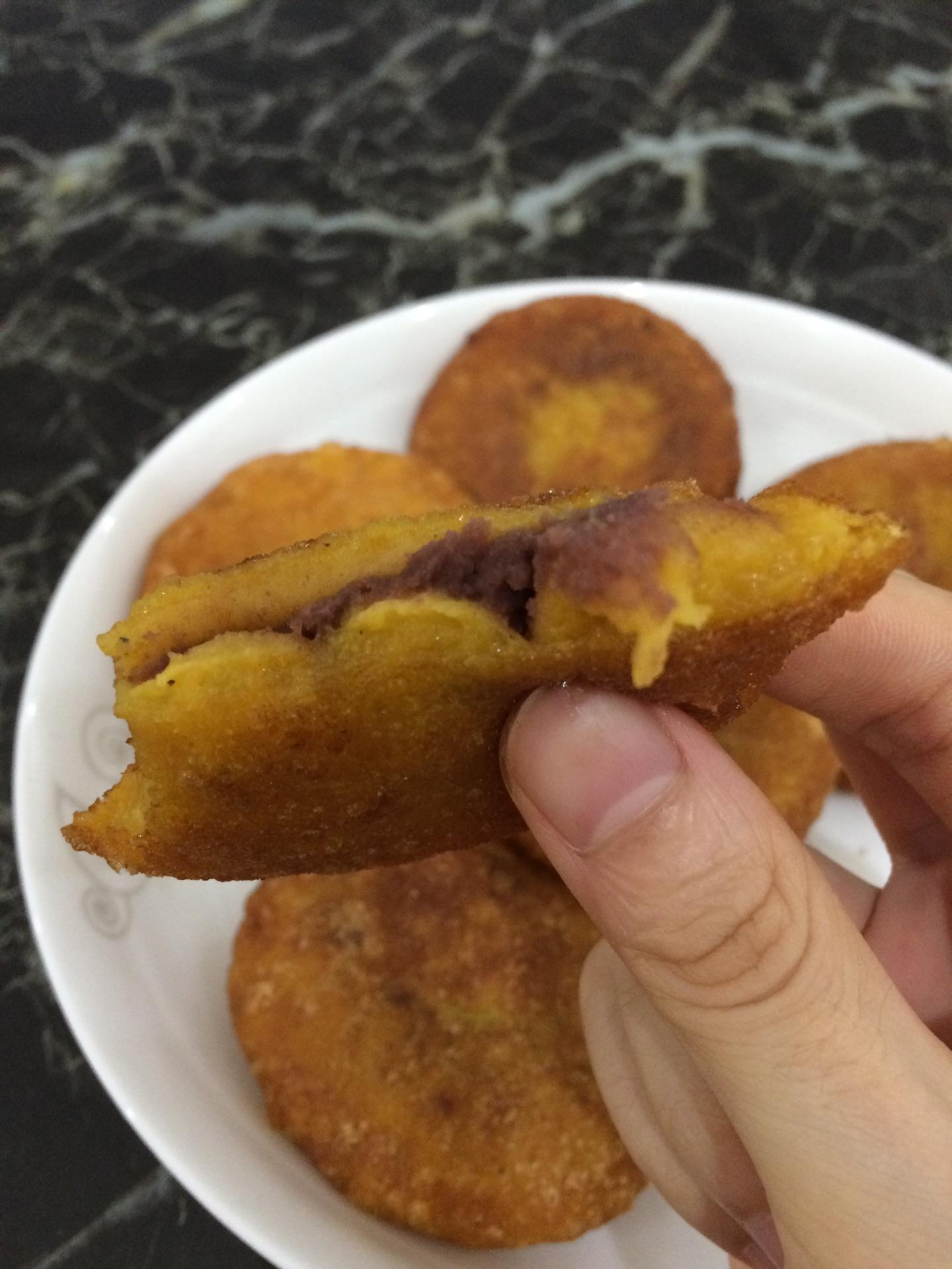 如何做好吃的南瓜饼_南瓜饼的做法_【图解】南瓜饼怎么做如何做好吃_南瓜饼家常做法 ...