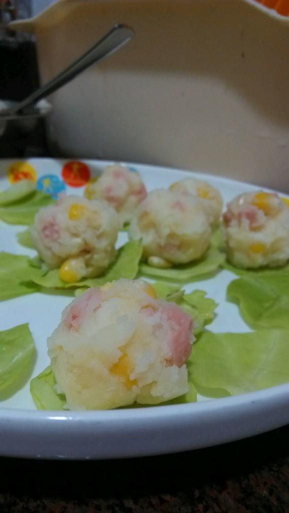 沙拉土豆球的做法图解5