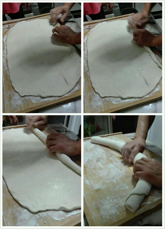 蒸花卷的做法_【图解】蒸花卷怎么做如何做好吃_蒸_小