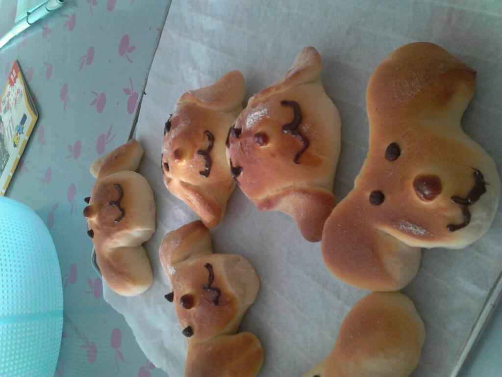 动物面包做法大全图解