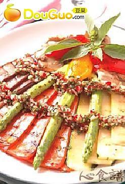香烤蔬菜沙拉的做法