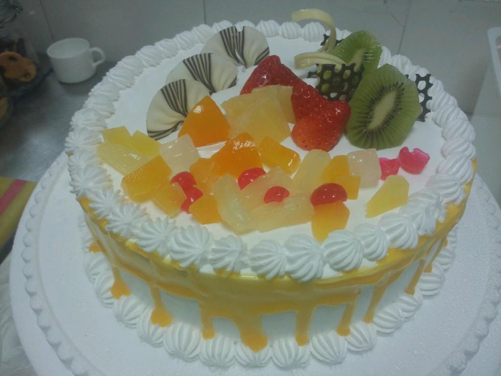 生日蛋糕的做法图解5