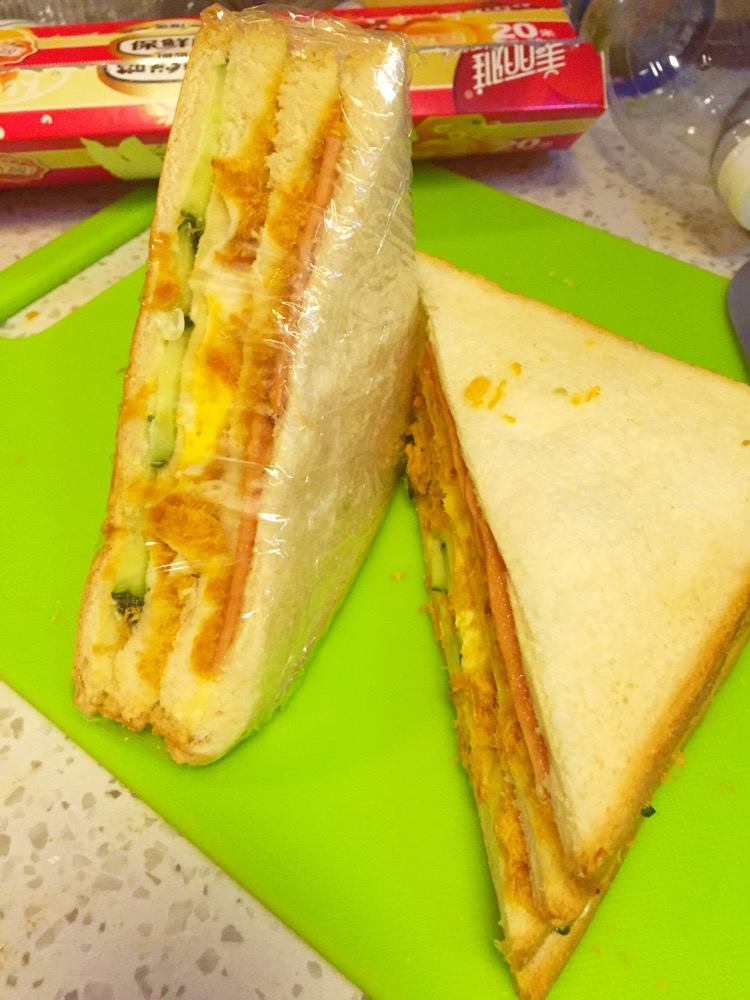 肉松多多三明治的做法图解12