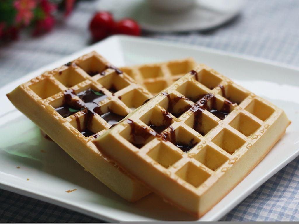 原味华夫饼#十二道锋味复刻#的做法_【图解】原味华夫