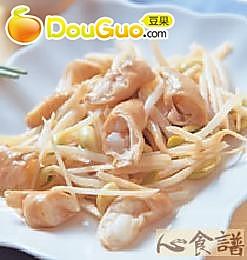 姜丝炒大肠的做法