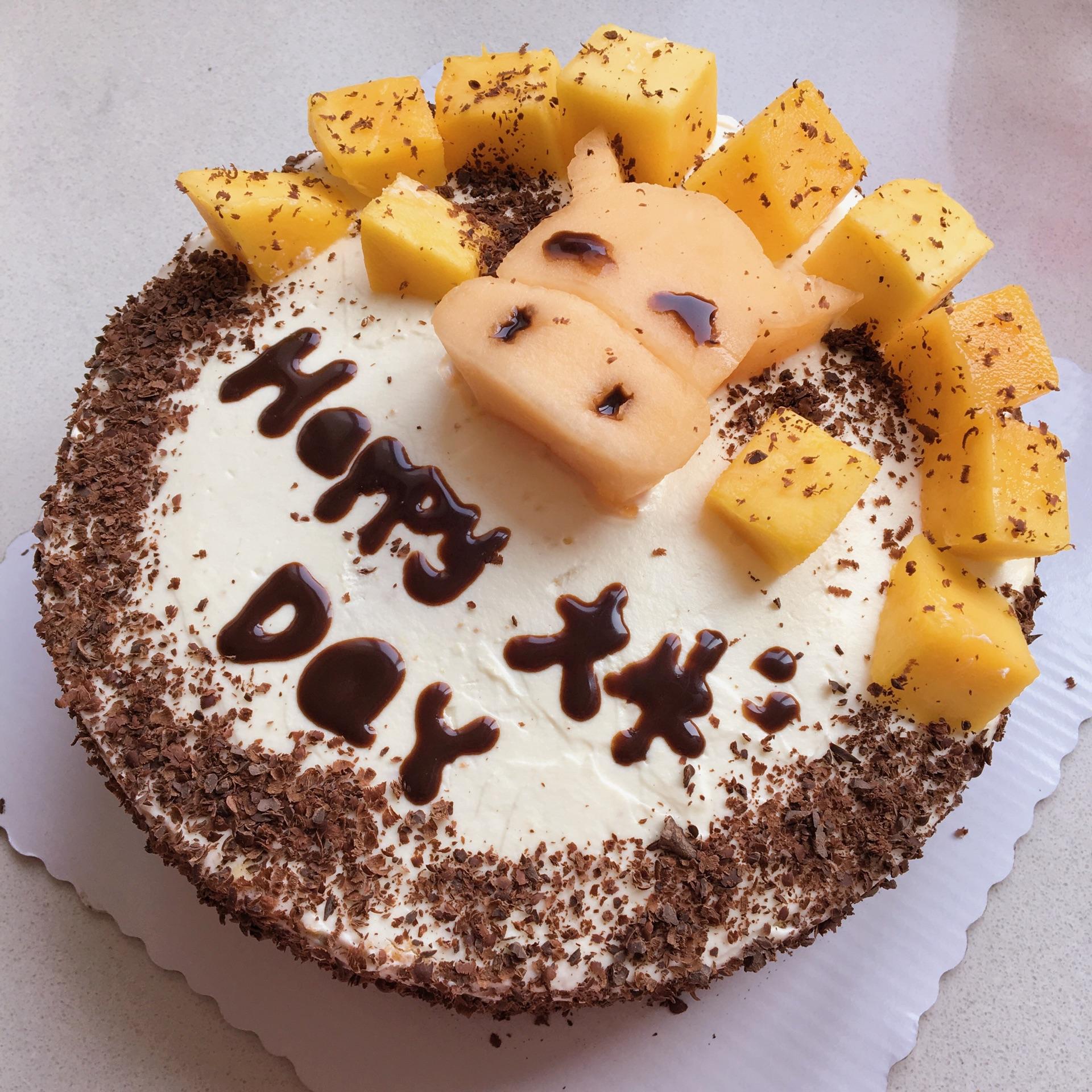 水果装饰生日蛋糕