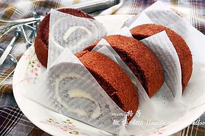可可戚风蛋糕卷(来自中岛老师的方子)