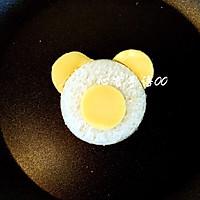 萌萌的小熊吐司片#百吉福芝士力量#的做法图解11