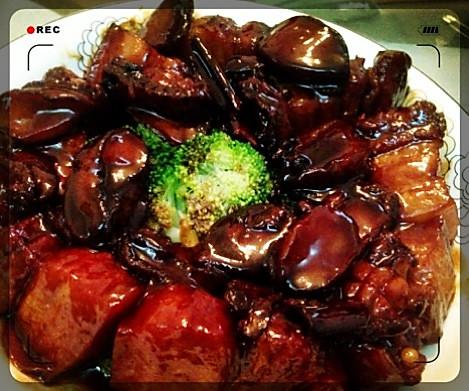 小鲍鱼红烧肉叶子教程青笋菜谱如何做麦饭图片